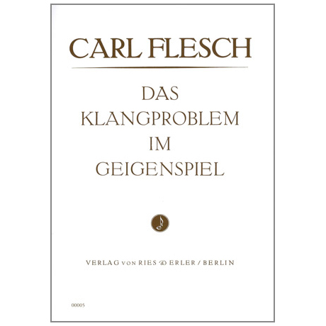 Flesch, C.: Das Klangproblem im Geigenspiel
