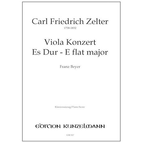 Zelter, K. F.: Konzert Es-Dur