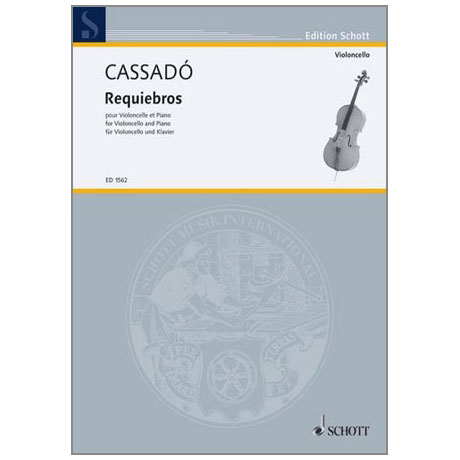 Cassadó, G.: Requiebros D-Dur