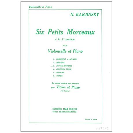 Karjinsky, N.: 6 Petits Morceaux