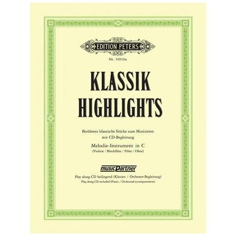Klassik Highlights – Band 1 (+CD)