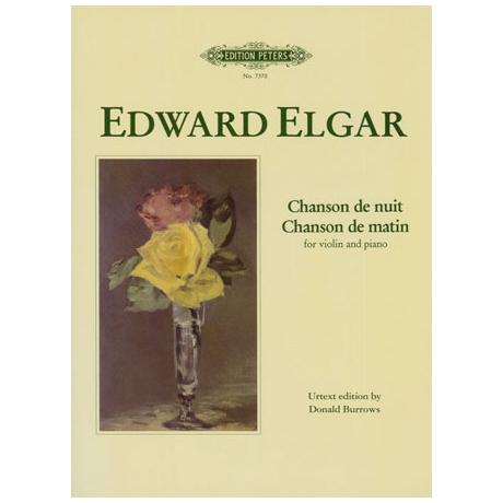 Elgar, E.: Chanson de nuit & Chanson de matin Op. 15 G-Dur