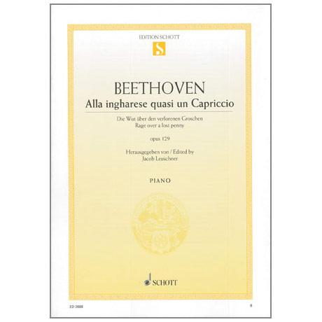 Beethoven, L. v.: Alla ingharese quasi un Capriccio Op. 129