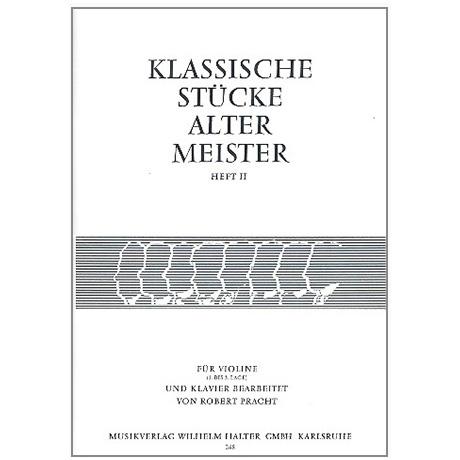 Pracht, R.: Klassische Stücke alter Meister Band 2