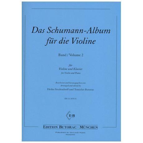 Das Schumann-Album für die Violine Band 2