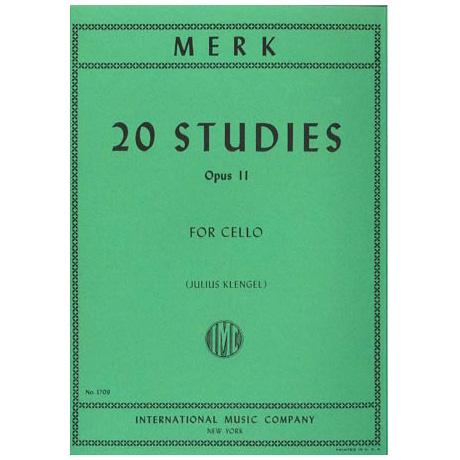 Merk, J.: 20 Etüden Op. 11