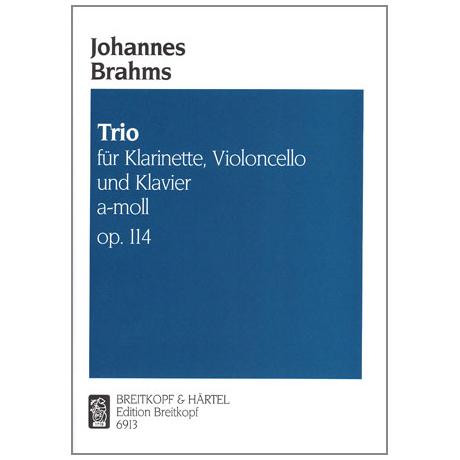 Brahms, J.: Klarinettentrio a-moll, op. 114