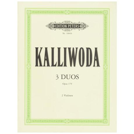 Kalliwoda, J.W.: 3 progressive Duette Band 1 Op.179