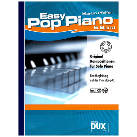 Pfeifer: Easy Pop Piano & Band (+CD)