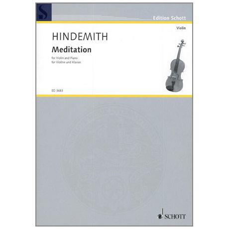 Hindemith, P.: Meditation aus »Nobilissima visione«
