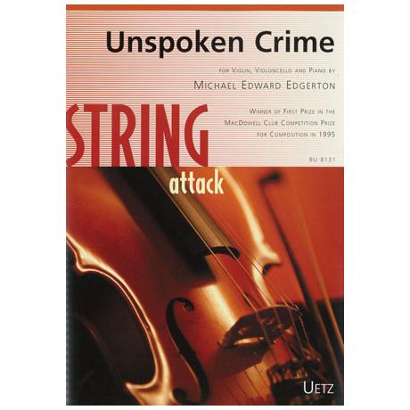 Edgerton, M.E.: Unspoken Crime
