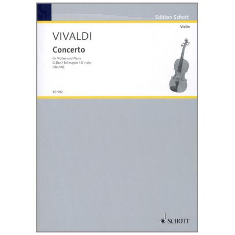 Vivaldi, A.: Konzert RV 298 G-Dur