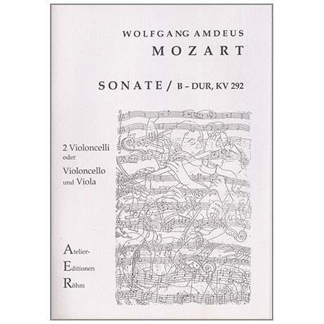 Mozart, W. A.: Violasonate nach KV 292 B-Dur