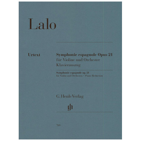 Lalo, E.: Symphonie espagnole, Op. 21 Urtext