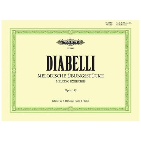 Diabelli, A.: Melodische Übungsstücke Op. 149