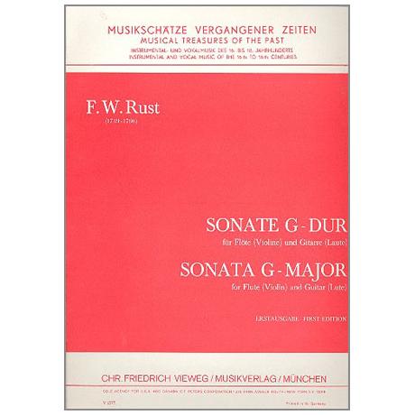 Rust, F.W.: Sonate G-Dur