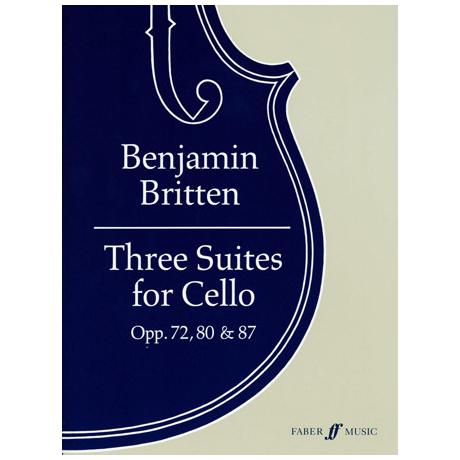 Britten, B.: 3 Cellosuiten Op.72, Op.80, Op.87
