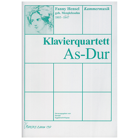 Hensel, F.: Klavierquartett As-Dur