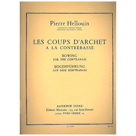 Hellouin: Coups D´Archet