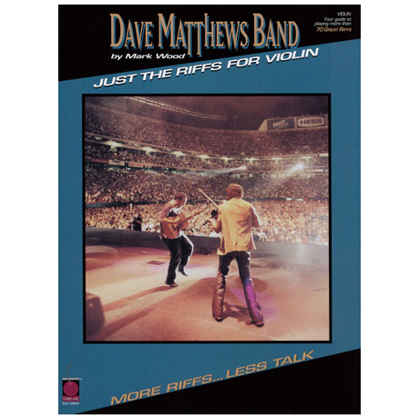 Dave Matthews Band - Just the Riffs for Violin