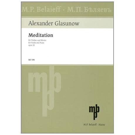 Glasunow, A.: Meditation Op.32