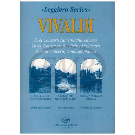 Leggiero - Vivaldi: Drei Concerti
