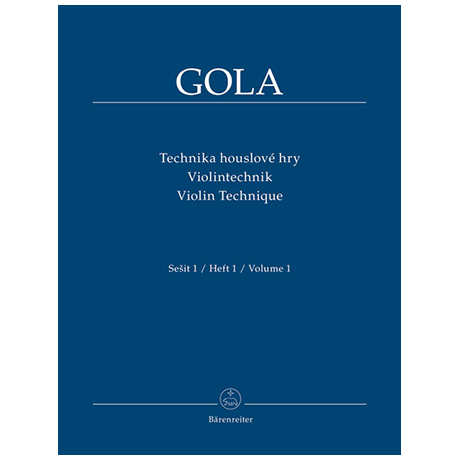 Gola: Violintechnik Band 1