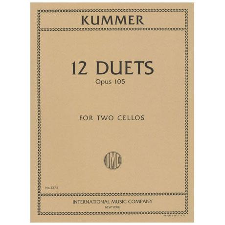 Kummer: 12 Duette op.105