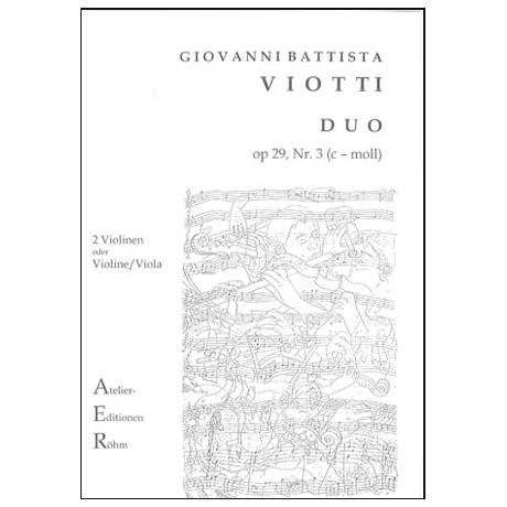 Viotti, G.B.: Duo Nr. 3, op.29