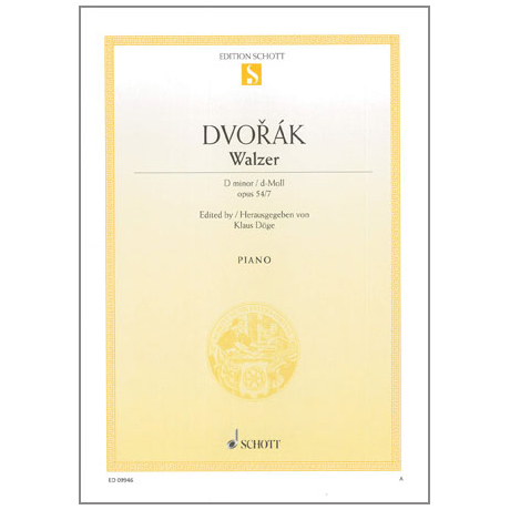 Dvořák, A.: Walzer d-Moll Op.54 Nr.7