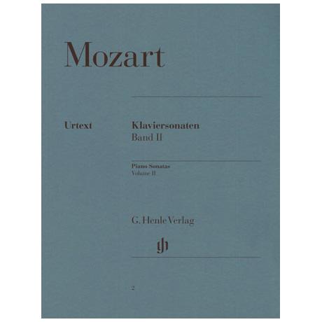 Mozart, W. A.: Klaviersonaten Band II