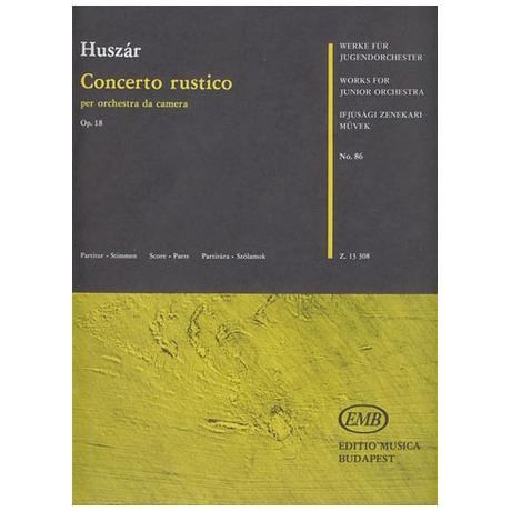 Werke für Jugendorchester - Huszár: Concerto rustico Op. 18