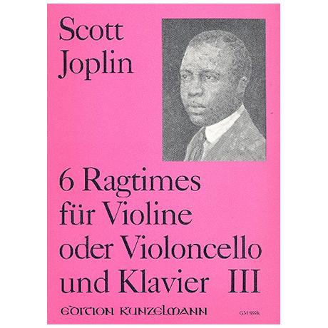 Joplin, S.: 6 Ragtimes Band 3