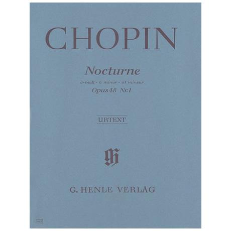Chopin, F.: Nocturne c-Moll Op. 48,1