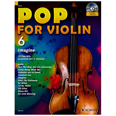 Pop for Violin Vol.6 (+CD)