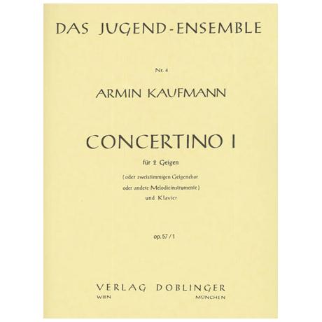 Kaufmann, A.: Concertino 1 Op.57/1