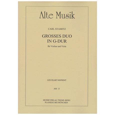 Alte Musik – Großes Duo in G-Dur