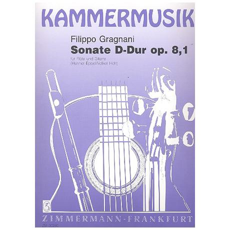 Gragnani, F.: Sonate D-Dur Op.8,1