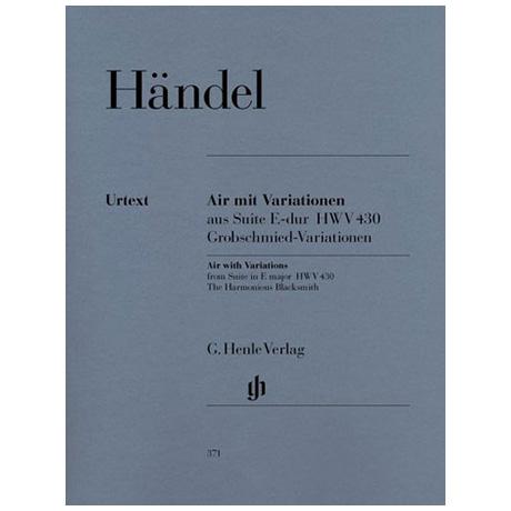 Händel, G. F.: Air (Grobschmied-Variationen)