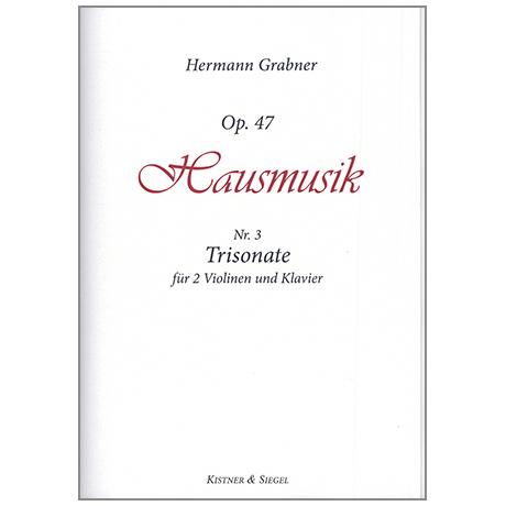Grabner, H.: Sonate Op.47/3