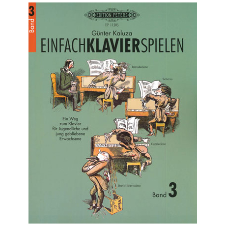 Kaluza, G.: Einfach Klavier spielen Band 3