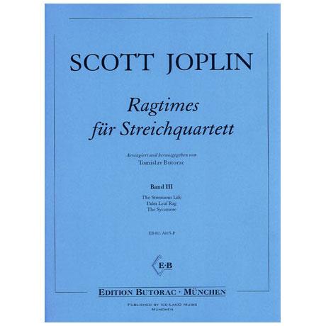 Joplin, S.: Ragtimes - Band 3