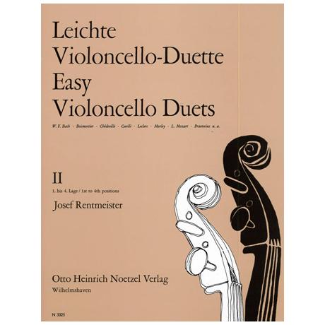 Rentmeister, J.: Leichte Violoncello-Duette Band 2