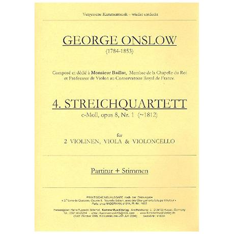 Onslow, George: Streichquartett c-moll