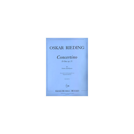 Rieding, O.: Concertino in D-Dur op. 25
