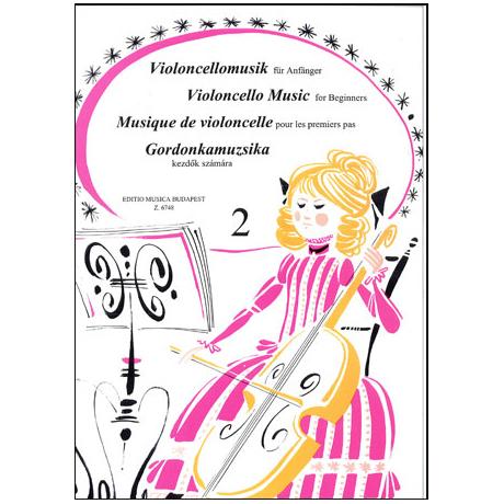 Pejtsik, A.: Violoncellomusik für Anfänger Band 2
