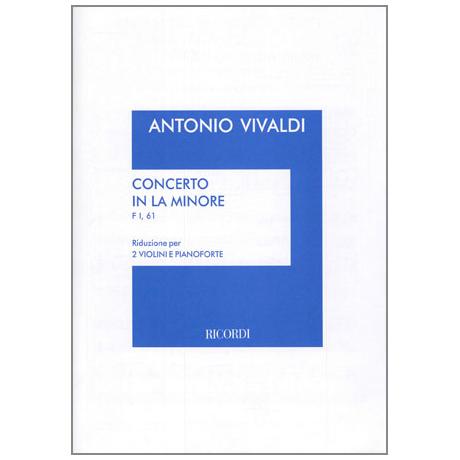 Vivaldi, A.: Konzert RV 523 a-Moll
