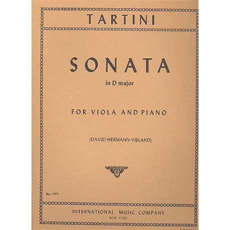 Tartini, G.: Sonate in D-Dur