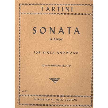 Tartini, G.: Violasonate D-Dur