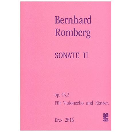 Romberg, B. H.: Sonate Op. 43/2 C-Dur